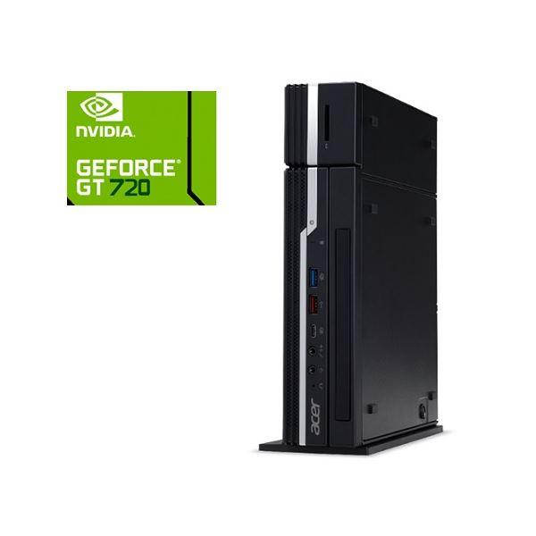 Acer VN4660G-H58UGB9 (コンパクト/Core i5-9400T/8GB/256GBSSD/DVD+/-RW/Windows 10 Pro64bit/WiFi/5画面/HDMI×3/DP/DVI/リカバリーD/1年保証/Office Home&Business2019) VN4660G-H58UGB9