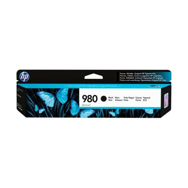 HP HP980 インクカートリッジ 黒顔料系 D8J10A 1個