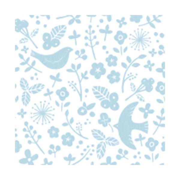 (まとめ)カモ井加工紙 mt CASA シート壁用 花と鳥をあしらったやさしい色合いの柄 MT03WS2304 3枚パック (×50セット)
