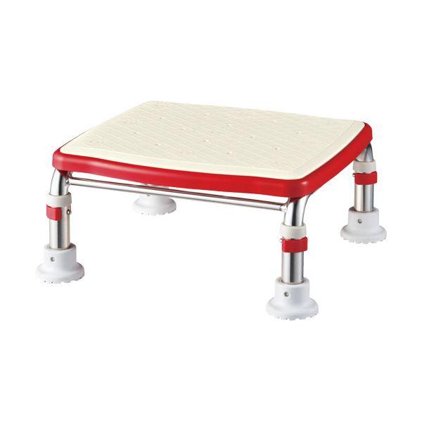アロン化成ステンレス製浴槽台R(あしぴた)標準タイプ ソフト15-20 レッド 536-454 1台