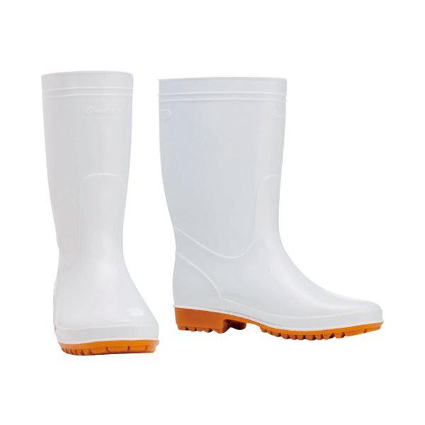 (まとめ) 川西工業 衛生耐油長靴#8300 25.0cm【×5セット】