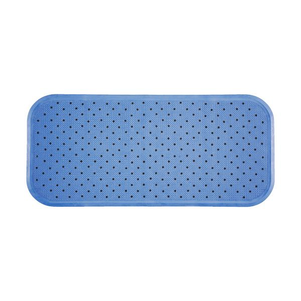 (まとめ)ワイズ スベリを防ぐ浴そうマット35×76cm ブルー 1枚【×5セット】