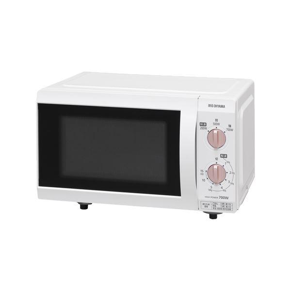 アイリスオーヤマ 電子レンジ 18L フラットテーブル 60Hz IMB-F184WPG-6