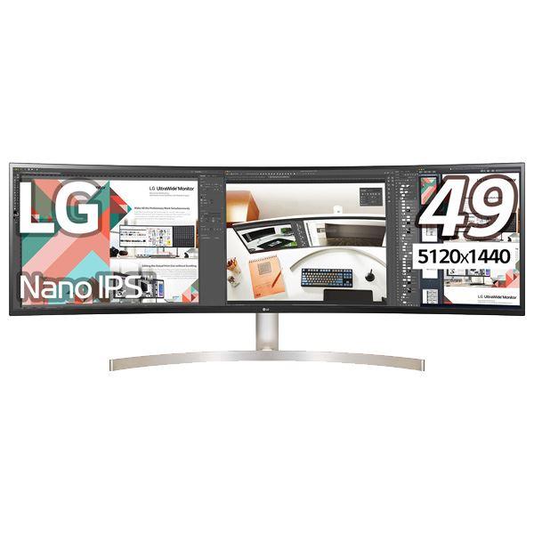 LG Electronics Japan 49型デュアルQHD対応ウルトラワイド液晶ディスプレイ IPS 5120×1440 3hrtdsCQ