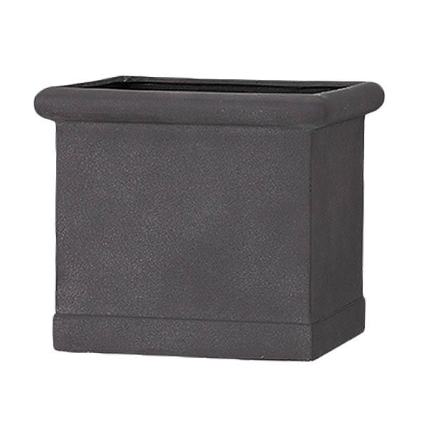 軽量植木鉢/プランター 【グレー 幅43cm】 穴有 ファイバー製 『CLタブポット』