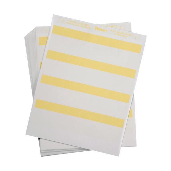 パンドウイットレーザープリンタ用セルフラミネートラベル 黄 S100X150YIJ 1箱(2500枚)