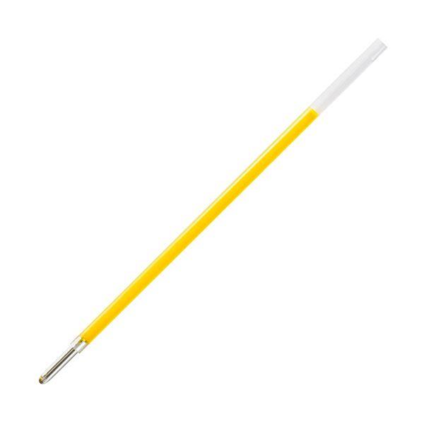 (まとめ) BIC 4色ボールペン ネオン替芯1.6mm 蛍光黄 R4CHBP16YLW1P 1セット(5本) 【×30セット】