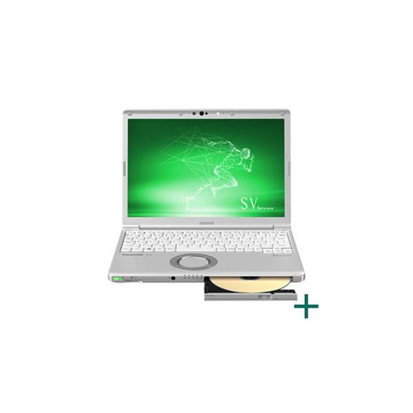 パナソニック Let's note SV8 法人(Corei7-8665UvPro/16GB/SSD512GB/SMD/W10P64/12.1WUXGA/LTE/電池L/顔認証) CF-SV8SFKVS