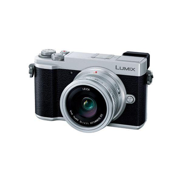 パナソニック デジタル一眼カメラ LUMIX GX7 Mark III 単焦点ライカDGレンズキット(シルバー) DC-GX7MK3L-S