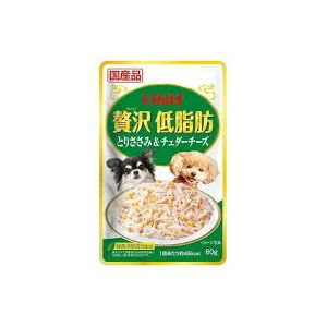 (まとめ)贅沢低脂肪 とりささみ&チェダーチーズ (ペット用品・犬フード)【×96セット】