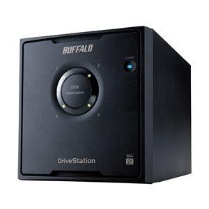 バッファロー ドライブステーション RAID5対応 USB3.0用 外付けHDD 4ドライブ 8TB HD-QL8TU3/R5J