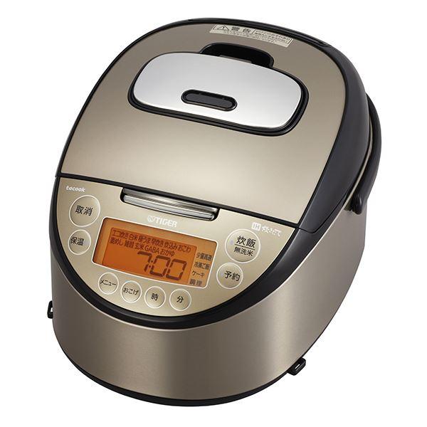 タイガー魔法瓶 IH炊飯器 炊きたて 「tacook」 1升 パールブラウン JKT-L180TP