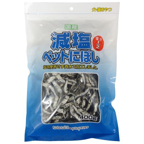 (まとめ)減塩ペットにぼし 400g(ペット用品・犬フード)【×20セット】