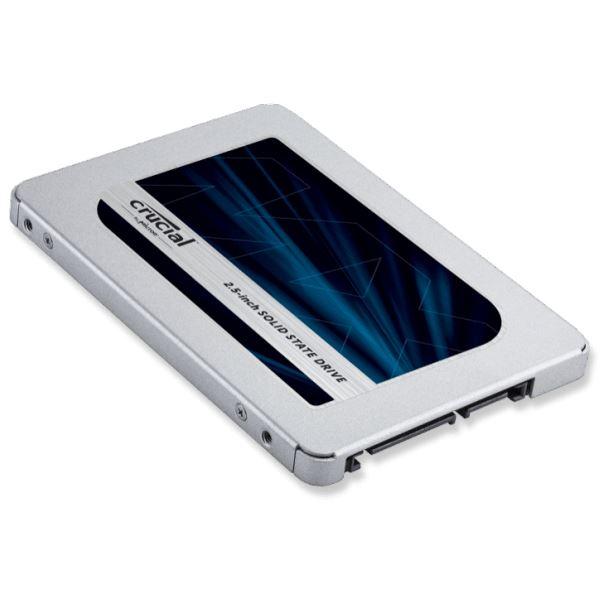 クルーシャル [Micron製] 内蔵SSD 2.5インチ MX500 250GB (3D TLCNAND/SATA 6Gbps/5年保証) 国内正規品 7mm/9.5mmアダプタ付属