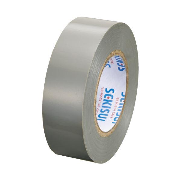 (まとめ)セキスイ エスロンテープ #360 19mm×10m 灰 V360H1N(×300セット)