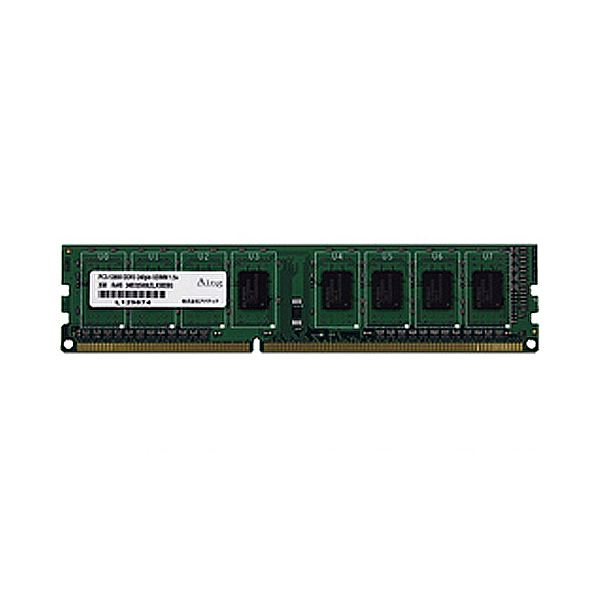 アドテック DDR3 1600MHzPC3-12800 240Pin UDIMM 8GB ADS12800D-8G 1枚