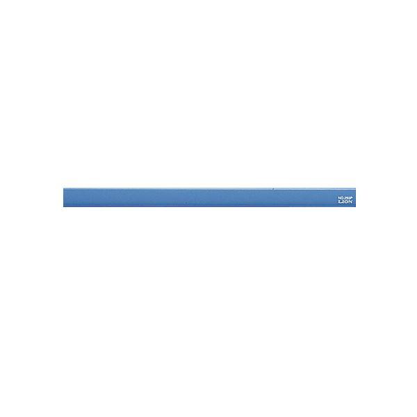 (まとめ) ライオン事務器 マグネットバー長さ220×幅15×厚さ8.5mm ブルー No.200P 1本 【×30セット】