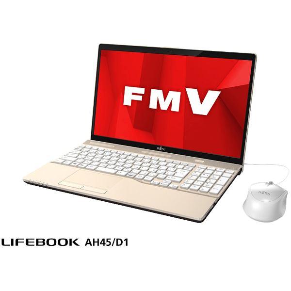 FUJITSU LIFEBOOK AH45/D1 シャンパンゴールド