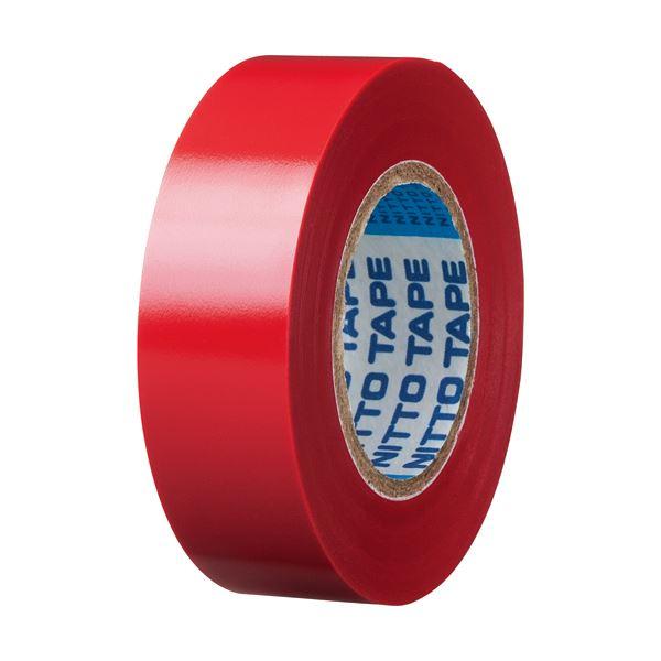 <title>電気絶縁性に優れたビニールテープ まとめ ニトムズ ビニールテープS 19mm×10m 正規品送料無料 赤 J2591 1パック 5巻 ×50セット</title>