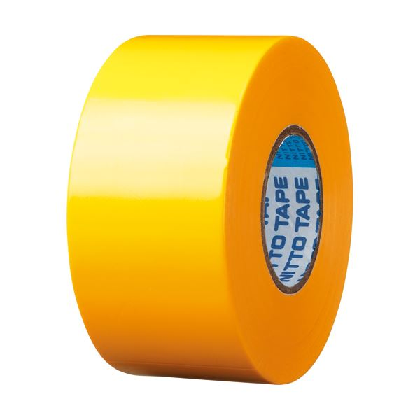 電気絶縁性に優れたビニールテープ お求めやすく価格改定 まとめ ニトムズ ビニールテープS 38mm×20m 本物 黄 ×50セット J3432 1巻