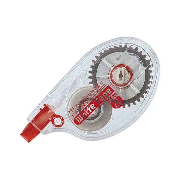 (まとめ) トンボ鉛筆 修正テープ モノYTM44.2mm幅×10m CT-YTM4 1セット(10個) 【×5セット】