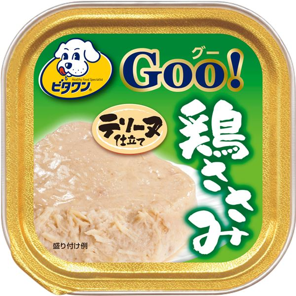 (まとめ)ビタワン グー 鶏ささみ テリーヌ仕立て 100g (ペット用品・犬フード)【×96セット】