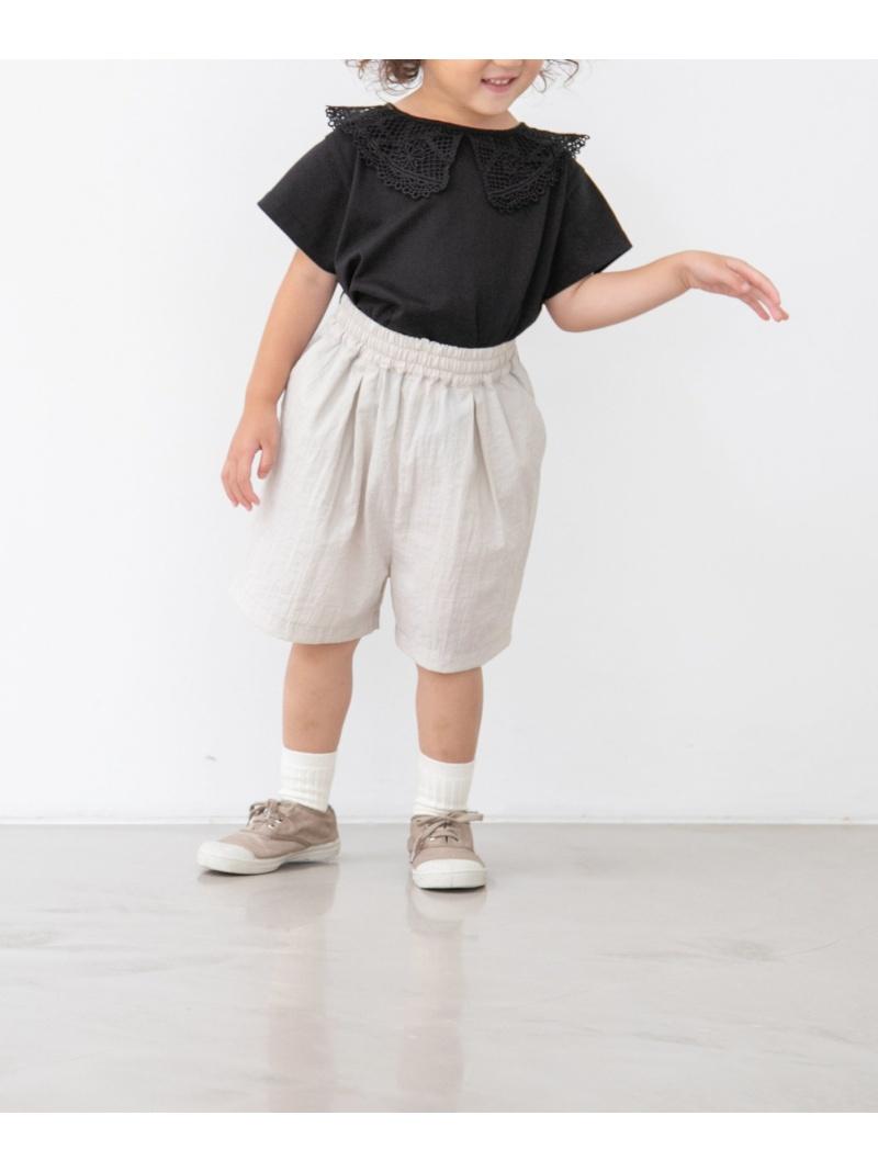 LOWRYS FARM キッズ パンツ ジーンズ ローリーズファーム 中古 SALE 35%OFF 20%OFF K タックボリュームSP RBA_E Fashion Rakuten ホワイト ネイビー キッズパンツ ブラック