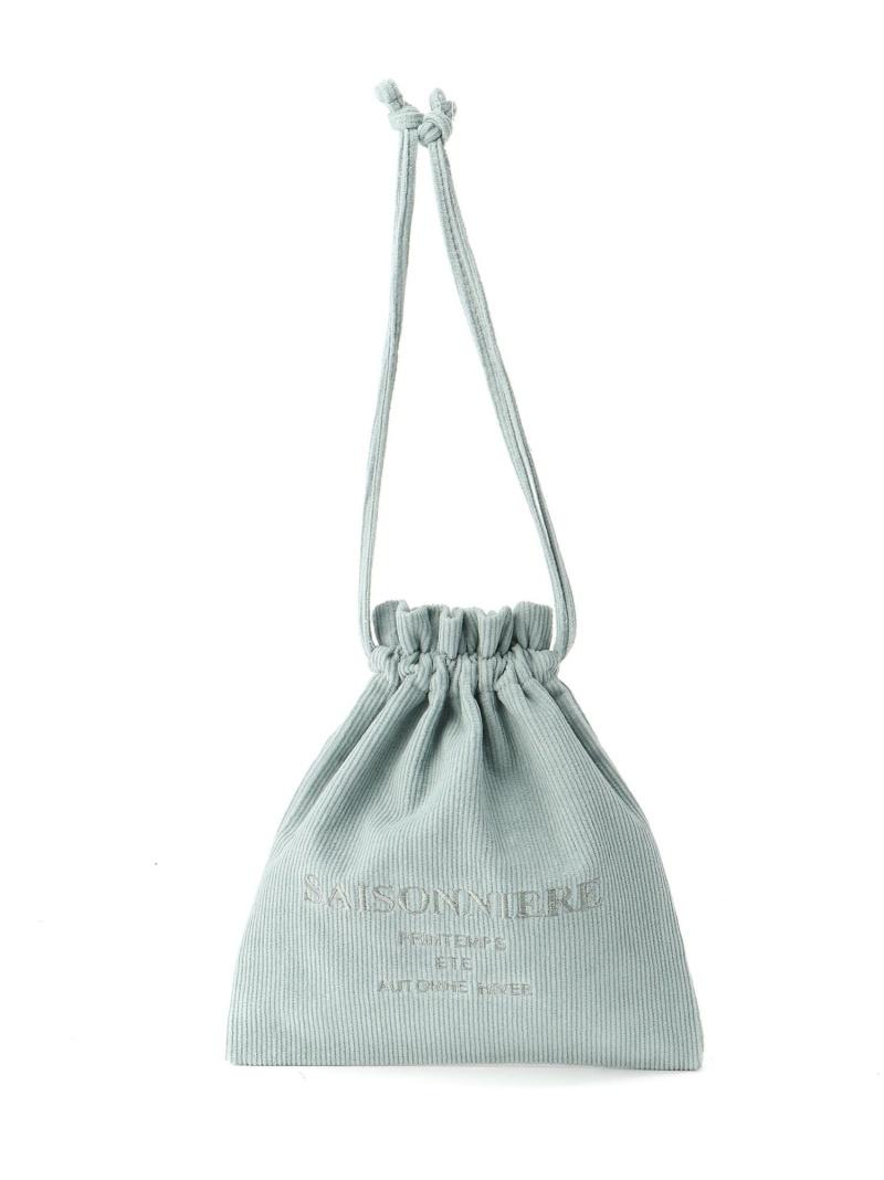 LOWRYS FARM レディース バッグ ローリーズファーム SALE 買い物 40%OFF シシュウキンチャクポーチ ポーチ ホワイト ベージュ グリーン 今季も再入荷 ピンク ブルー Fashion RBA_E ブラウン カーキ Rakuten