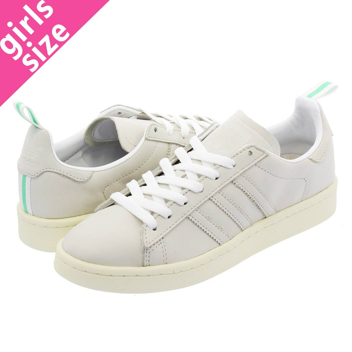 32fbc3183faef7 LOWTEX BIG-SMALL SHOP  adidas CAMPUS Adidas campus RUNNING WHITE VINTAGE  WHITE VINTAGE WHITE