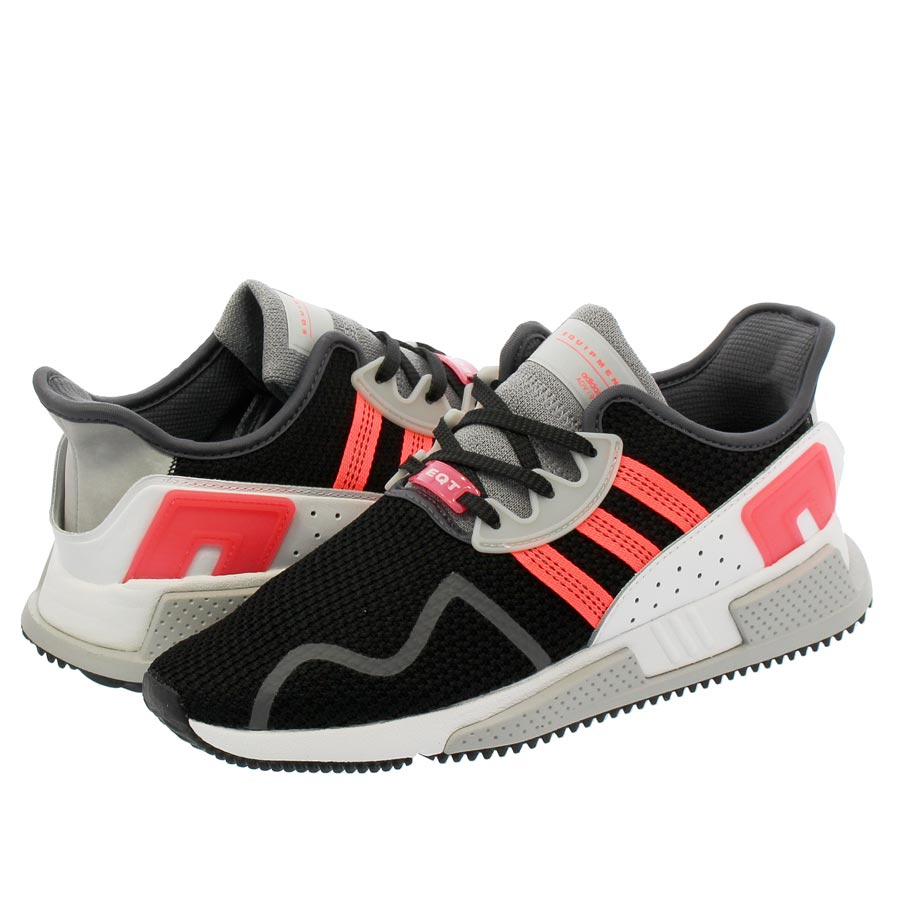 new concept b2eef d8feb adidas EQT CUSHION ADV Adidas EQT cushion ADV CORE BLACK/GREEN/RUNNING WHITE