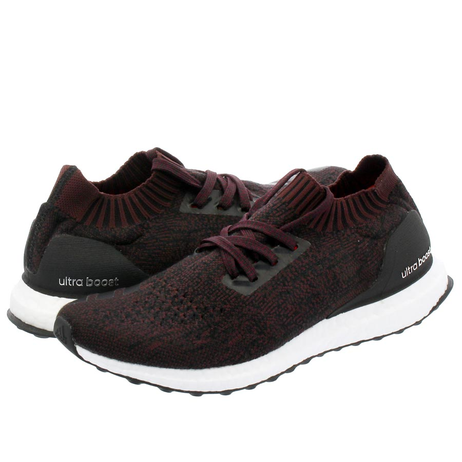 04abca747aca7 adidas ULTRA BOOST UNCAGED Adidas ultra boost Ann caged wool CORE BLACK DARK  BURGUNDY