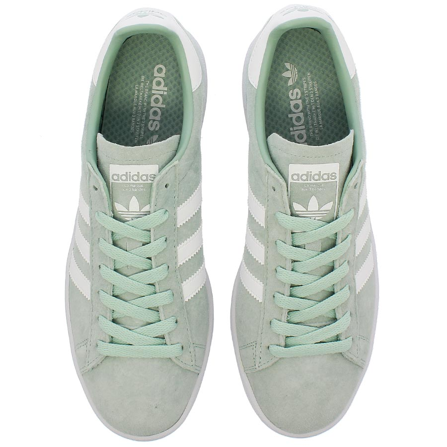 cheaper 9fc4b f7d86 adidas CAMPUS Adidas campus ASH GREENRUNNING WHITERUNNING WHITE