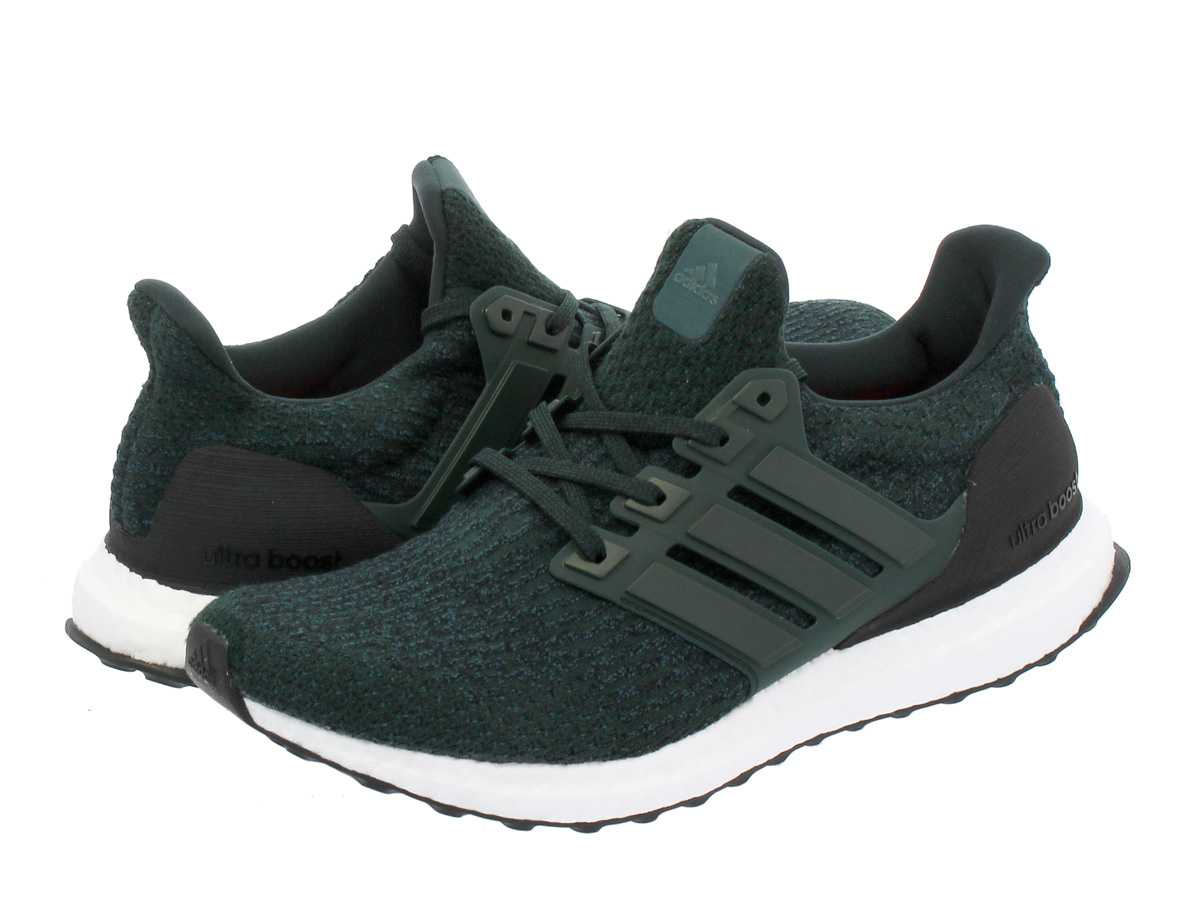 2359fcdc9 adidas ULTRA BOOST WOOL Adidas ultra boost wool GREEN NIGHT CORE BLACK