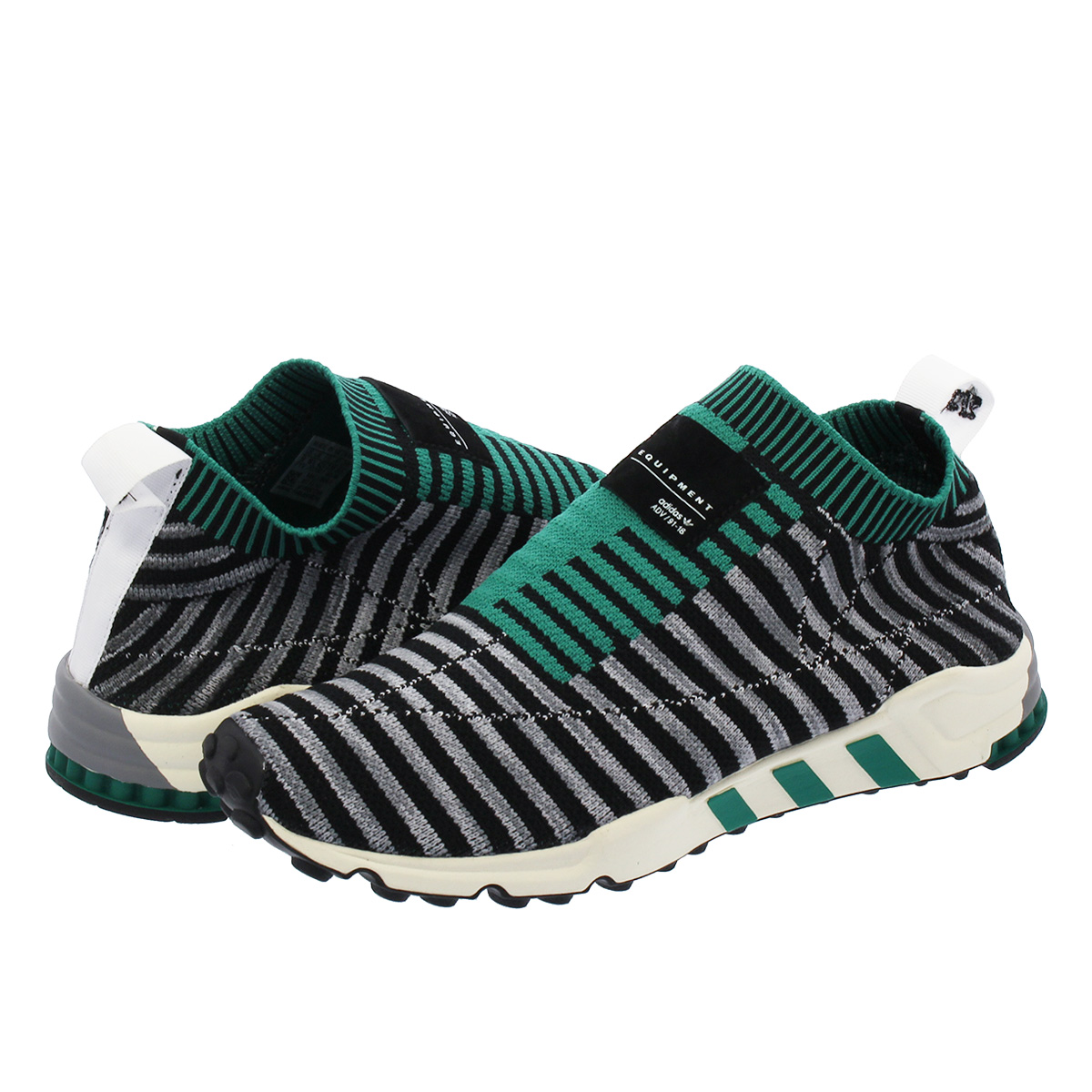 wholesale dealer 9c8cd b6c5a adidas EQT SUPPORT PK 2/3 Adidas EQT support prime knit 2/3 CORE BLACK/GREY  ONE/SUB GREEN b37522