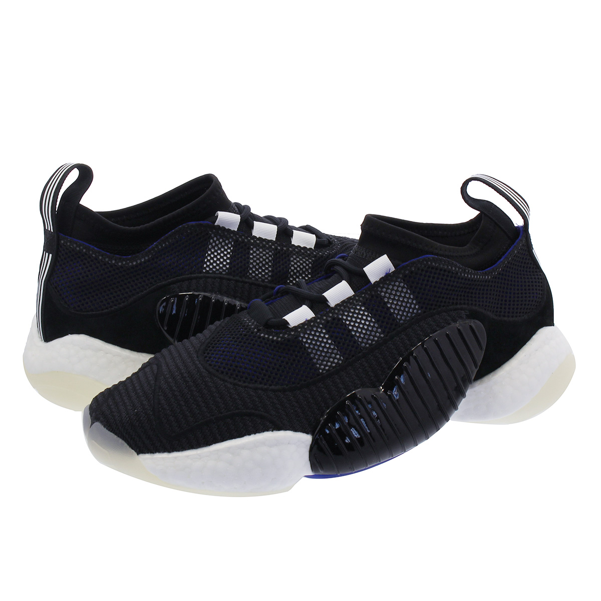 premium selection 73e37 b6136 adidas CRAZY BYW LVL II Adidas crazy BYW LVL II BLACK/PURPLE/WHITE b37552
