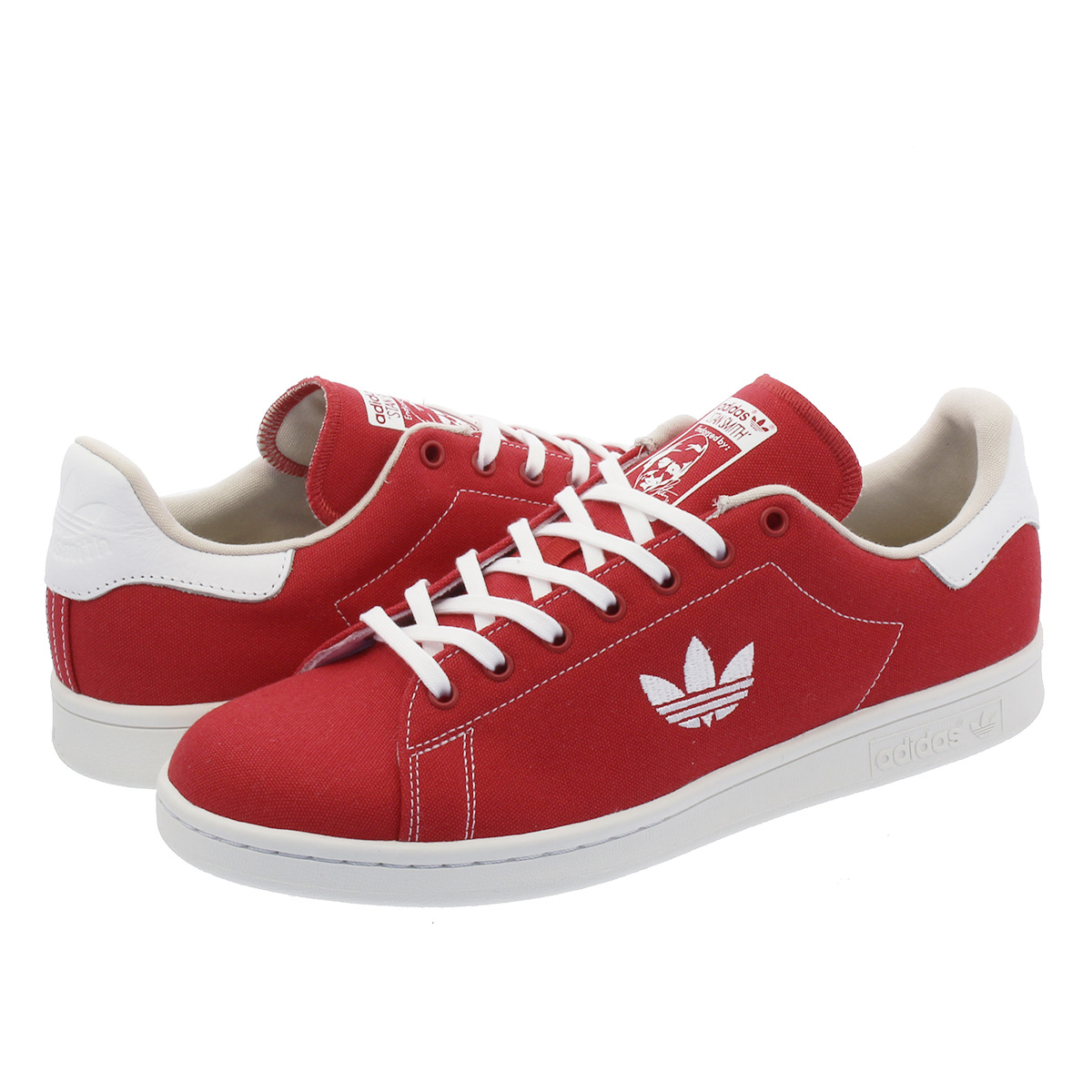 adidas STAN SMITH Adidas Stan Smith SCARLET/RUNNING WHITE/CLEAR BROWN b37894