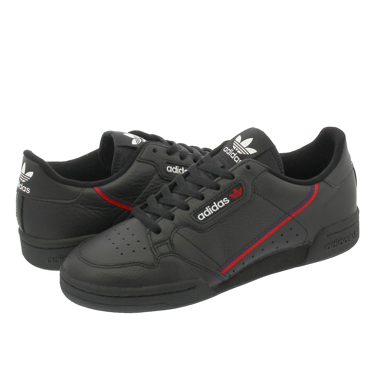 261fe99e9f9a4 adidas CONTINENTAL 80 Adidas Continental 80 CORE BLACK/SCARLET/COLLEGIATE  NAVY b41672