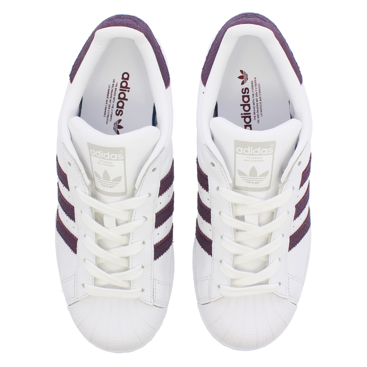 classic fit 63e18 fa7d0 adidas SUPERSTAR W Adidas superstar W RUNNING WHITE/RED NIGHT/SILVER MET  b41510
