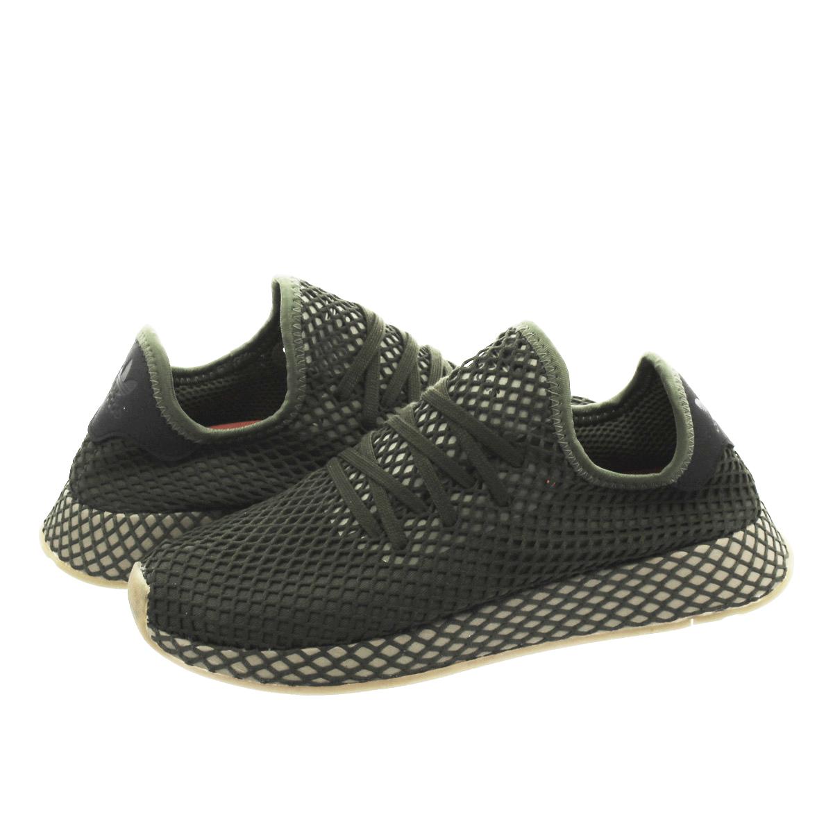 adidas DEERUPT RUNNER アディダス ディーラプト ランナー BASE GREEN/BASE GREEN/ORANGE b41771