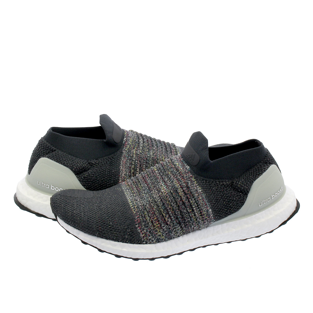 adidas Ultra Boost Laceless Grey