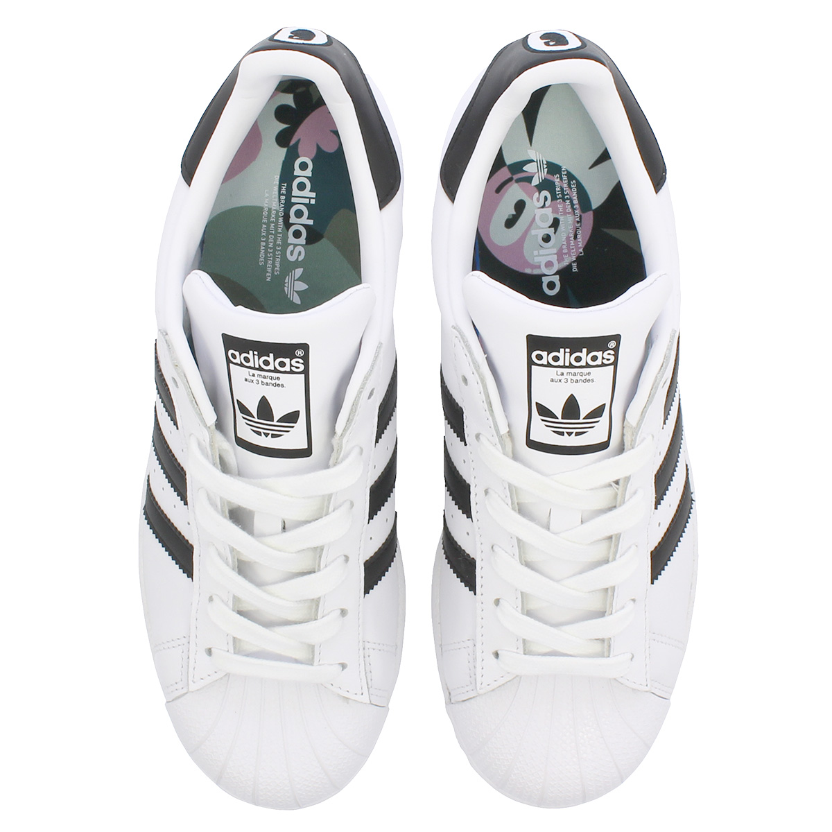 96d0942529d adidas SUPERSTAR W Adidas superstar W RUNNING WHITE RED NIGHT SILVER MET  cm8414