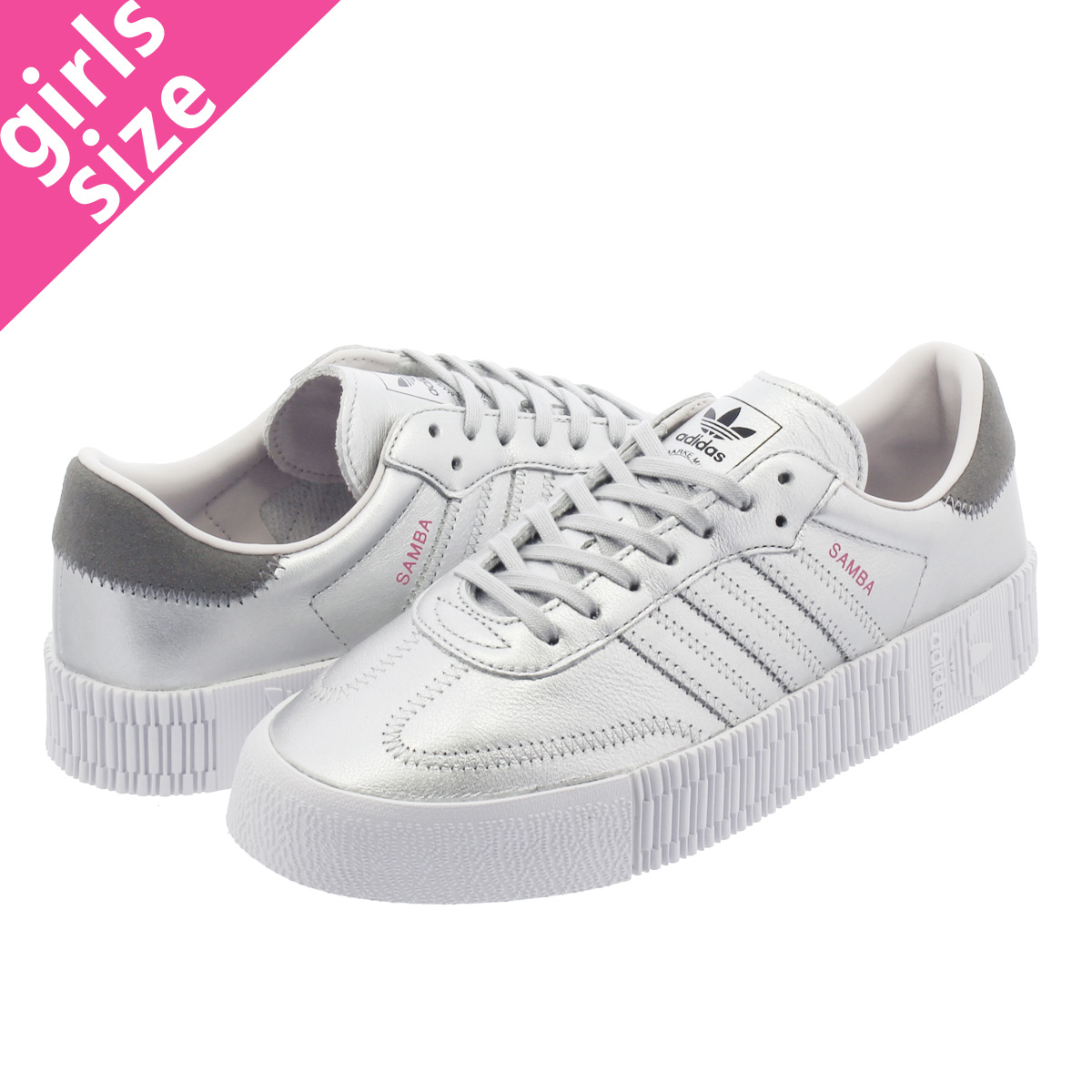 adidas SAMBAROSE W LL Adidas samba Rose W LL SILVER MET SILVER MET ORCHID  TINT d96769 b56a30197