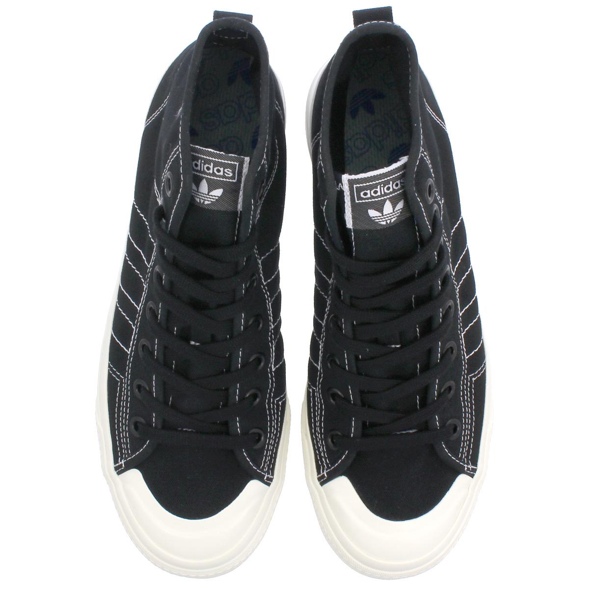 adidas NIZZA HI RF アディダスニッツァハイ RF CORE BLACK RUNNING WHITE OFF WHITE f34057 216d97c2f