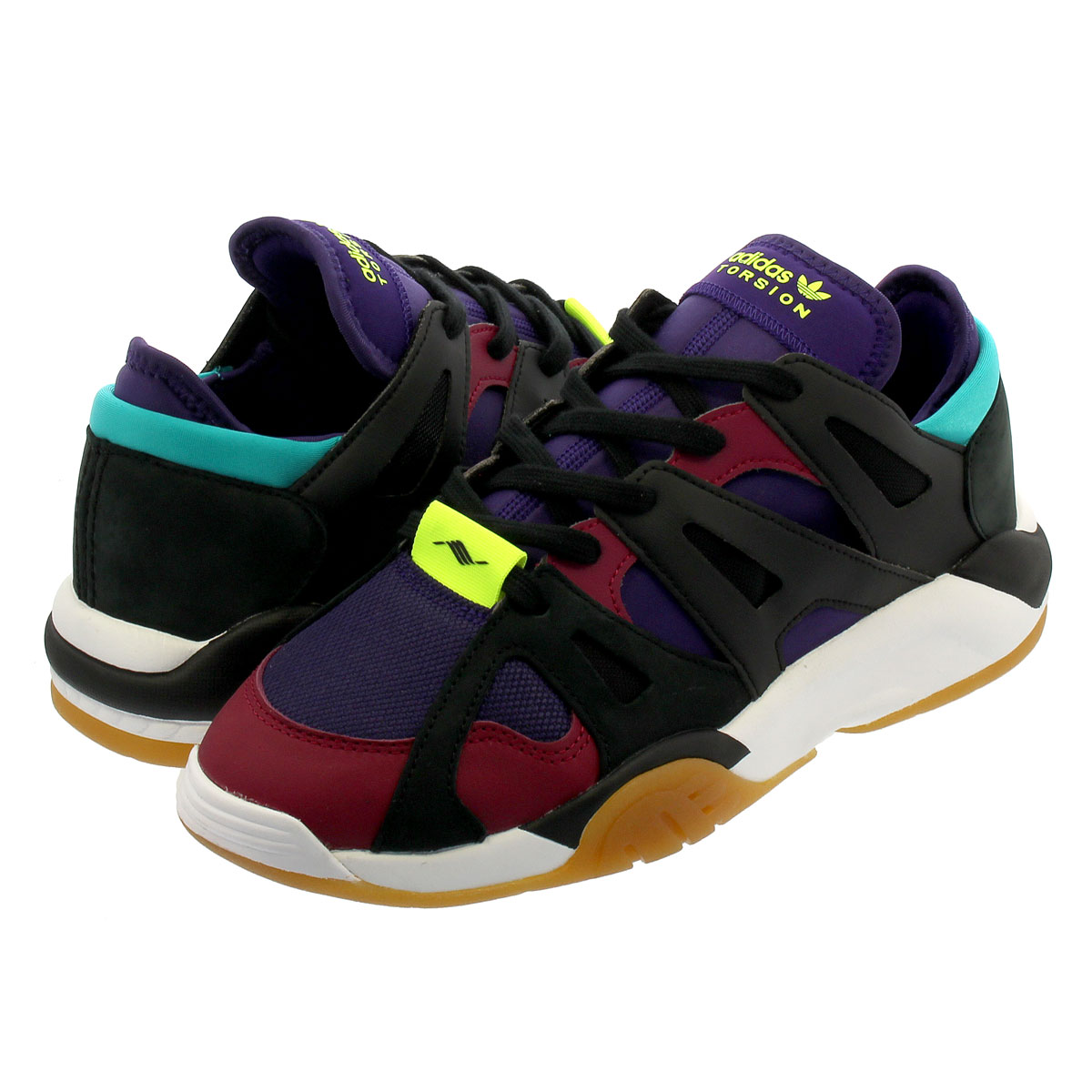 newest 95dc4 f941b adidas DIMENSION LO Adidas dimension low CORE BLACKDARK PURPLEMYSTERY  RUBY f34419