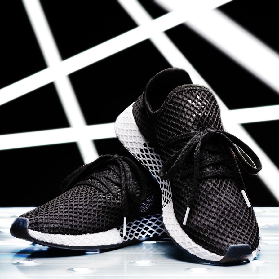 994b033152d0e adidas DEERUPT RUNNER KICKS LAB. アディダスディーラプトランナーキックスラボ CORE BLACK CORE BLACK  RUNNING WHITE