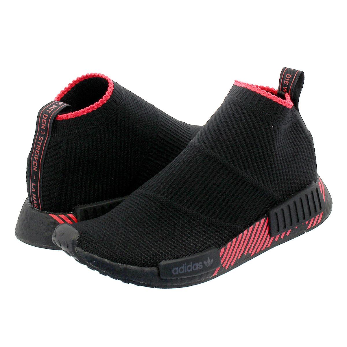 【毎日がお得!値下げプライス】 adidas NMD_CS1 PK アディダス NMD_CS1 PK CORE BLACK/CORE BLACK/SHOCK RED