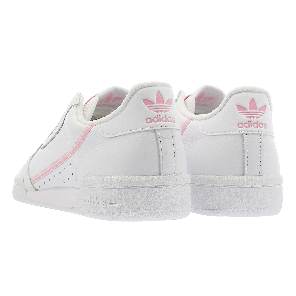 cd898e0fb846 adidas CONTINENTAL 80W Adidas Continental 80W RUNNING WHITE TRUE PINK CLEAR  PINK g27722
