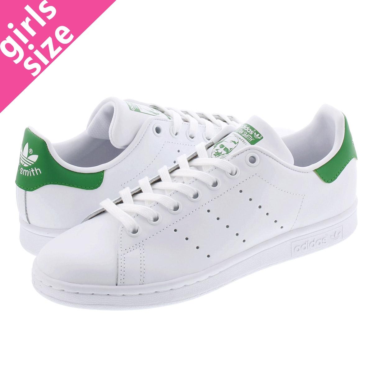 sports shoes 8f2a9 001c9 adidas STAN SMITH W Adidas women Stan Smith WHITE/GREEN