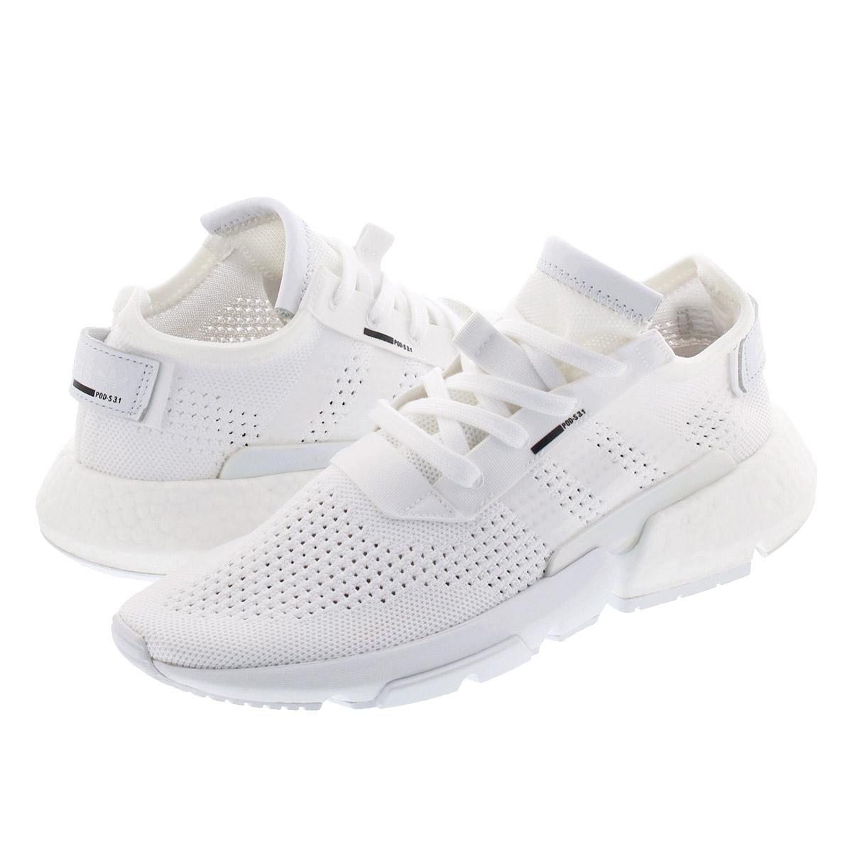 【毎日がお得!値下げプライス】 adidas POD-S3.1 W アディダス POD-S3.1 ウィメンズ RUNNING WHITE/RUNNING WHITE/SHOCK PINK db2698