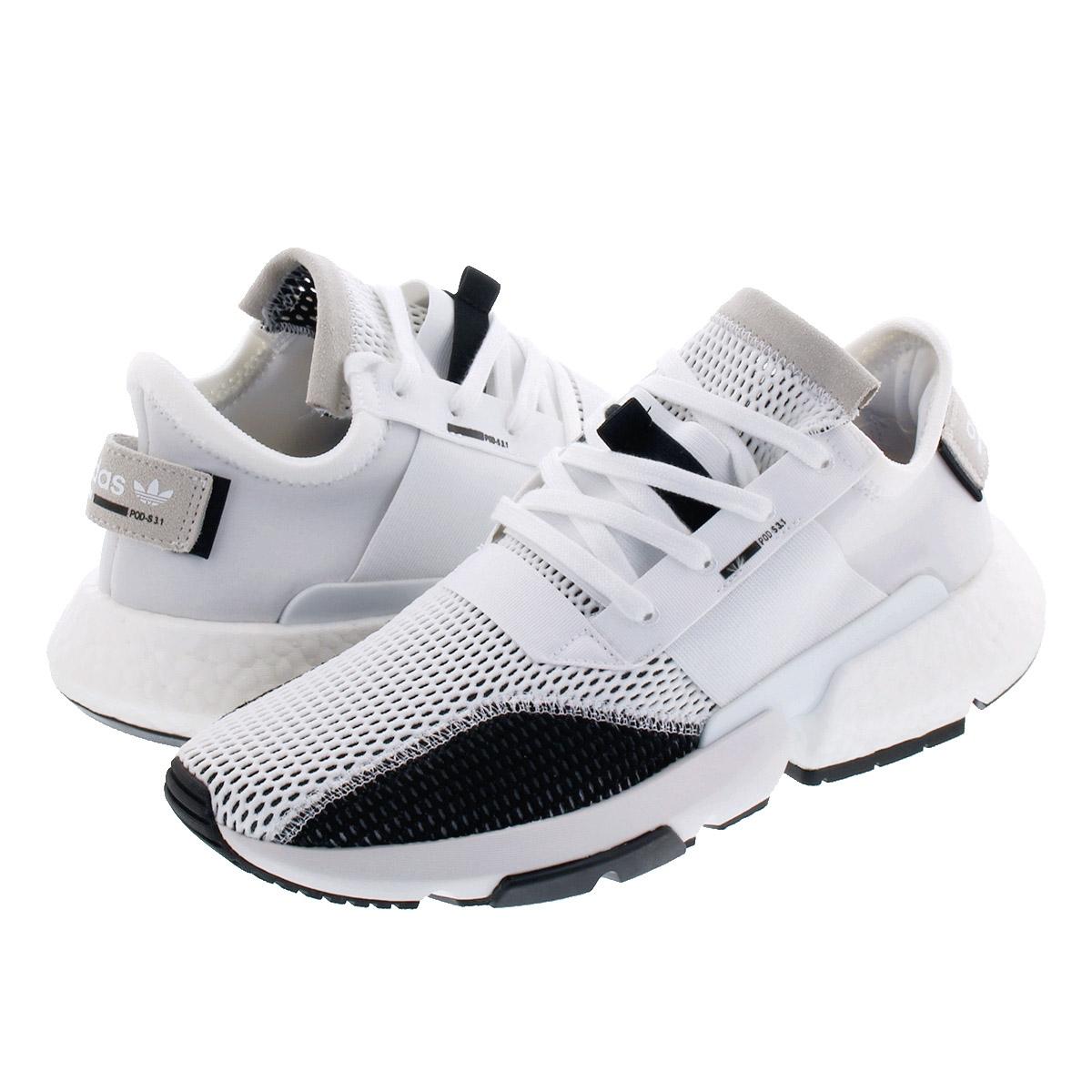 【毎日がお得!値下げプライス】 adidas POD-S3.1 アディダス POD-S3.1 RUNNING WHITE/RUNNING WHITE/CORE BLACK db2929